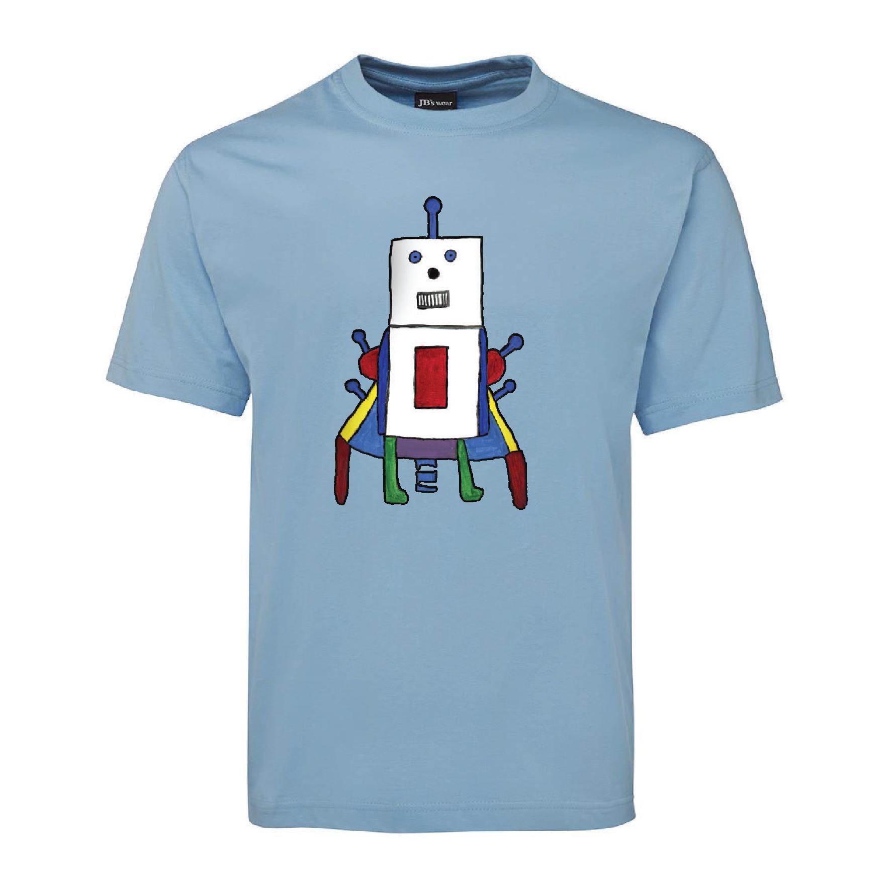Mild Blue Robot
