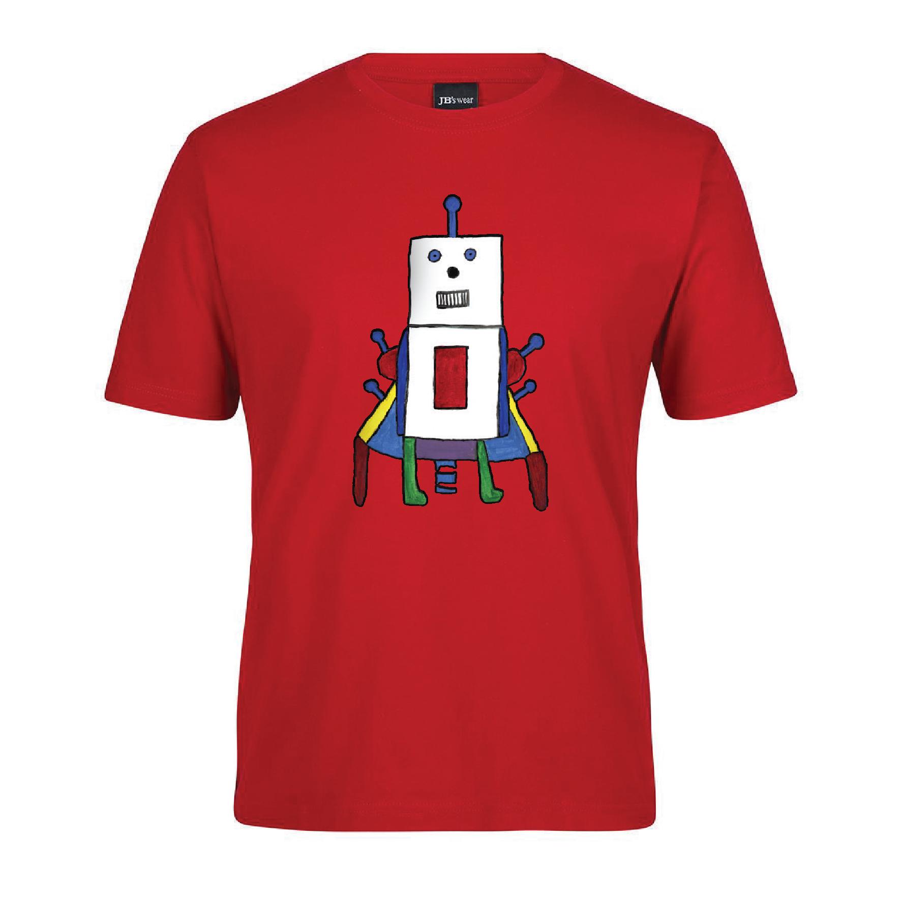Radiant Red Robot