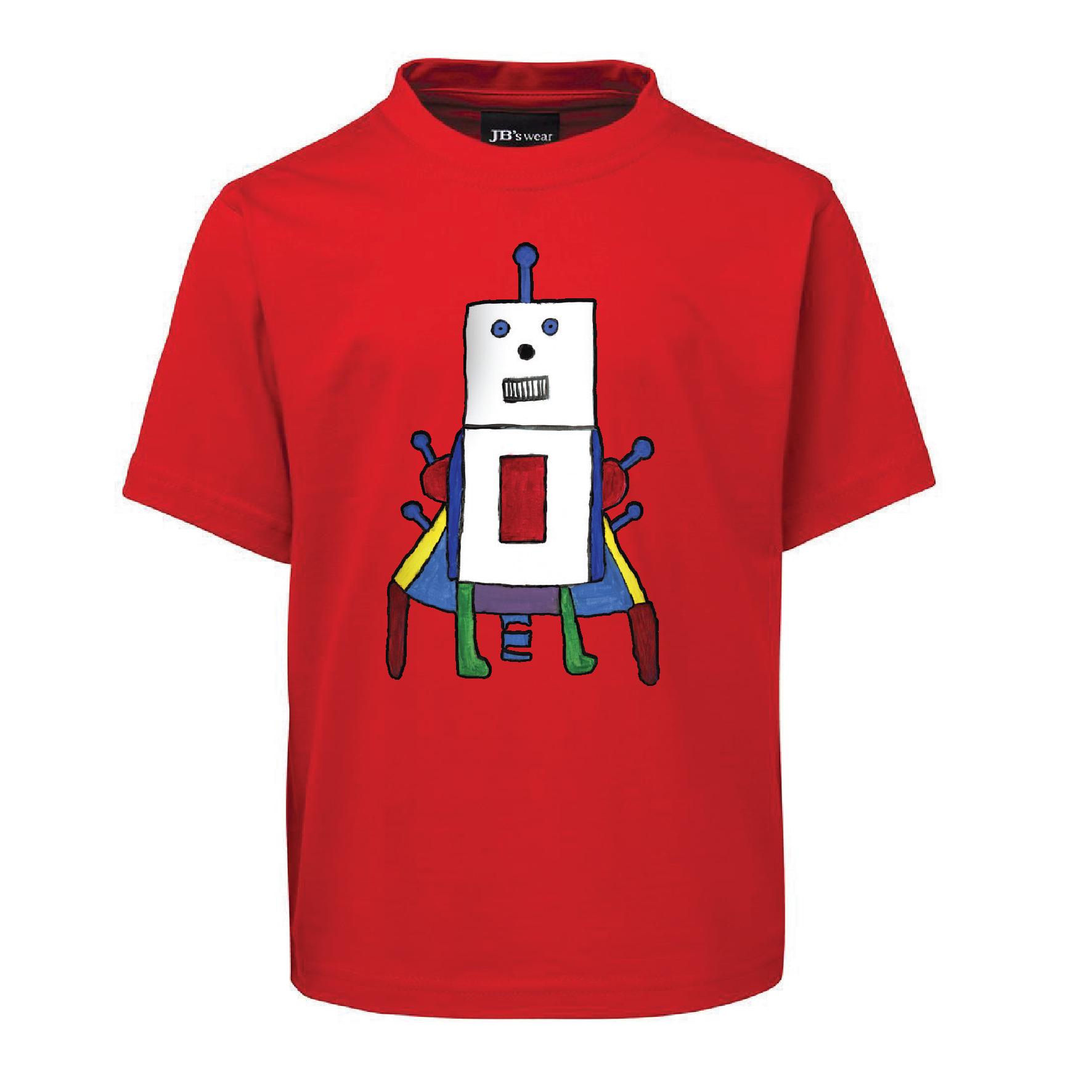 Radiant Red Robot (Kids Size)